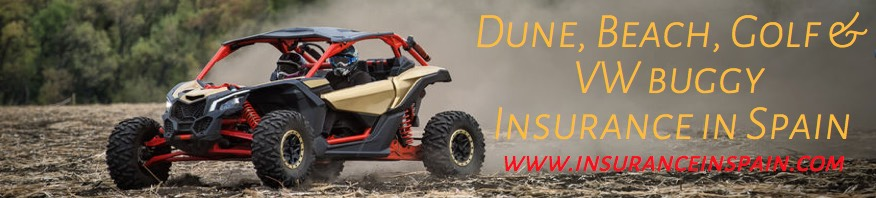 The dangers of renting a Quad in Spain - Quad, beach buggies, dune buggies and golf cart insurance in Spain.