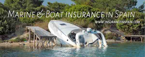 Boat, marine, yacht, dinghy, jet ski and all forms of watercraft insurance by www.insuranceinspain.com