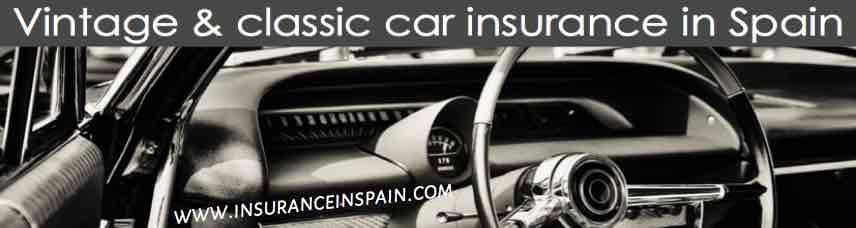 classic and vintage car insurance in Spain Portugal Gibraltar and Europe
