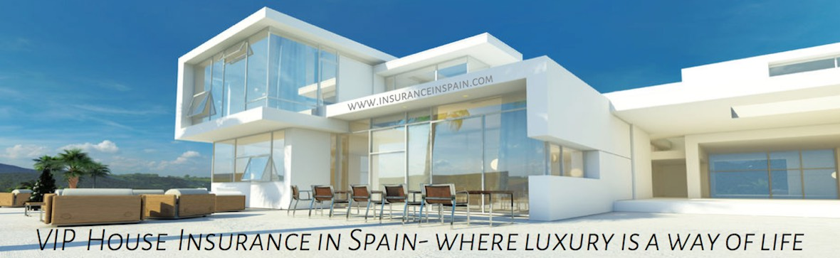 luxury villa, house, home, holiday home insurance in spain,