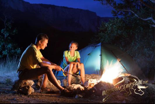 Camper van insurance in Spain, free camping in Spain.