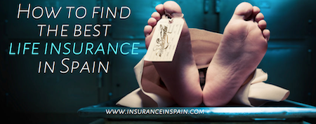 life insurance in Spain death corpse repatriation cremation funeral burial insurance
