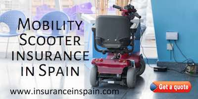 mobility scooter insurance spain disability disabled ride rent benidorm