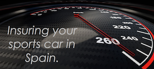sports car insurance in spain for uk and english cars