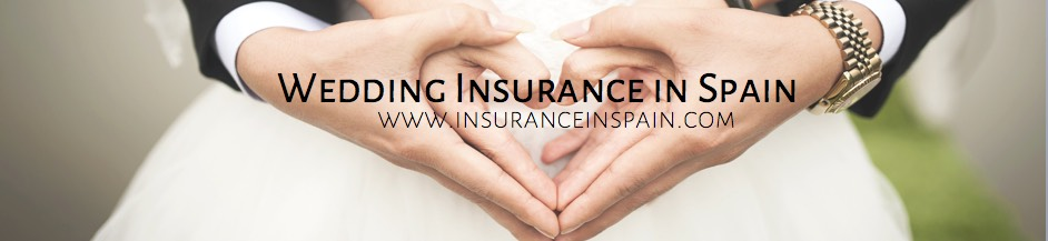 wedding, honeymoon, gown and gift and travel insurance in Spain