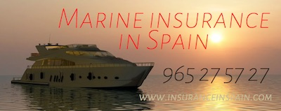 marine, boat, dinghy, sailing, motorboat, jet ski, tender, outboard insurance in spain