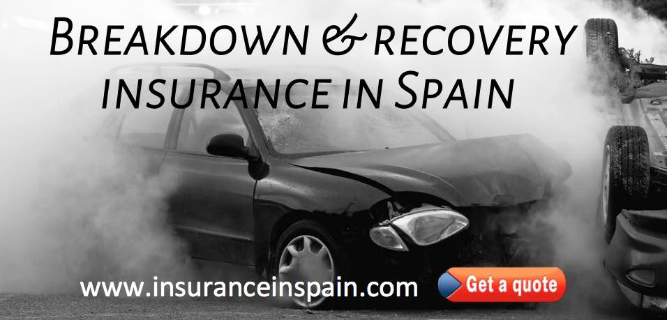 sos insurance in spain for breakdown accident and recovery