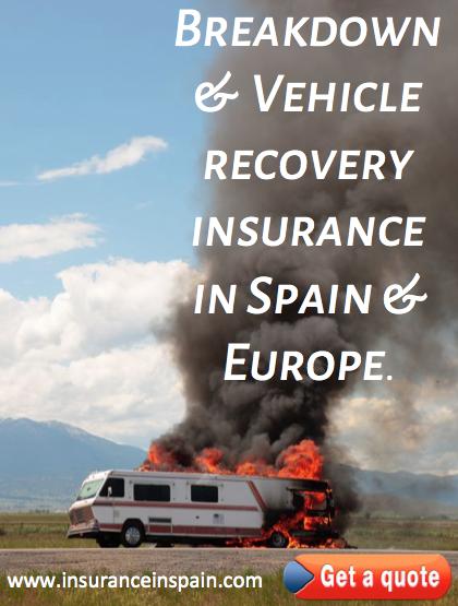 sos insurance in spain breakdown recovery insurance in spain