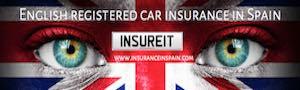 car insurance in spain UK british plates spanish