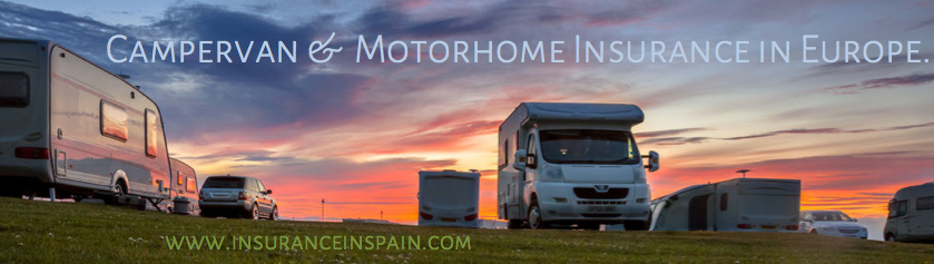 insurance in spain for all campers campervans motorhomes RV and all auto homes