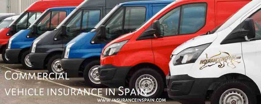 commercial vehicle insurance in spain for business and private use
