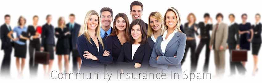 community insurance and urbanisation insurance in spain