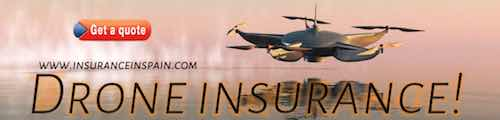 insurance for drones in spain, flying drone laws