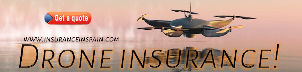 insurance for drones in spain, portugal, Gibraltar, flying drone laws