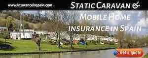 static caravan and mobile home insurance in spain