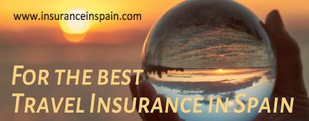 Travel insurance in Spain holiday vacation