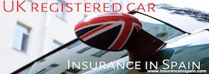 uk plated registered car insurance in spain for expats living in spain