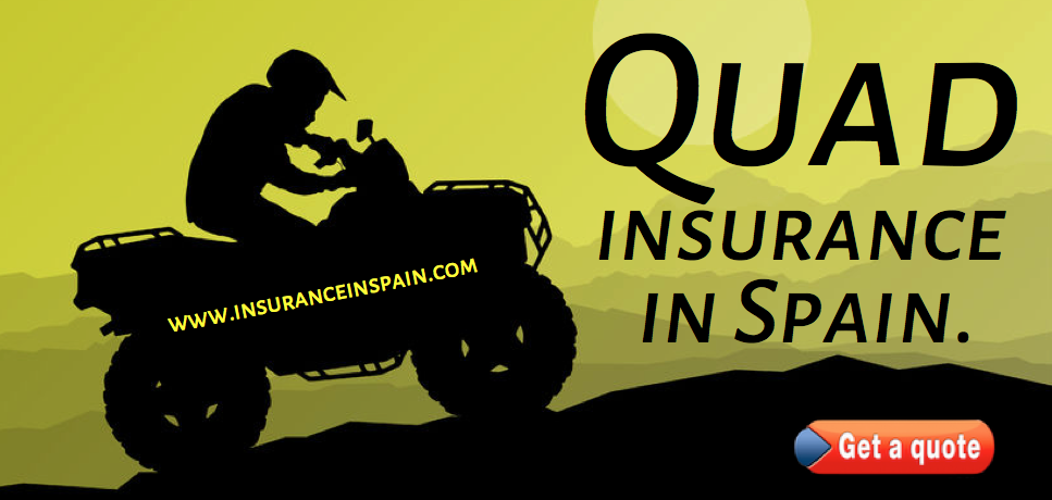 Quad Insurance in Spain, Quads, scooter, motorbike, endure and motor cross insurance in Spain.