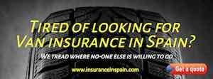van insurance in Spain commercial private and business