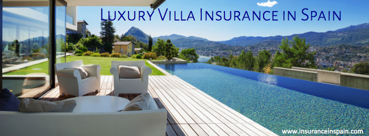 luxury villa in spain with contents and buildings insurance
