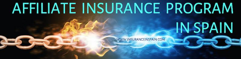 Insurance in Spain affiliate program in English