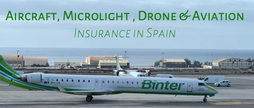 Aircraft liability, aviation and private aircraft insurance in Spain
