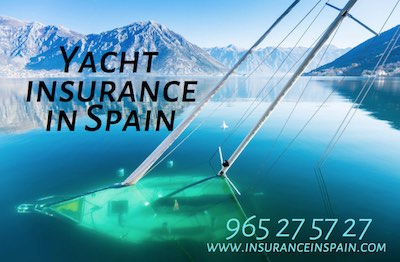 Yacht insurance in Spain, Portugal, Gibraltar, Europe
