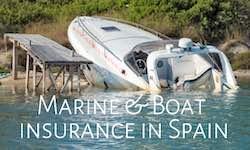 boat insurance Spain, marine, speedboat, jetski, yacht  insurance