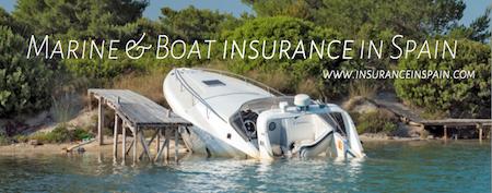 boat insurance in spain, marine insurance, speedboat, jetski, watercraft, yacht dinghy insurance