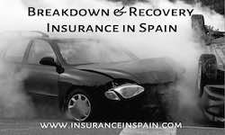 breakdown and recovery insurance in Spain for British and Spanish registered vehicles