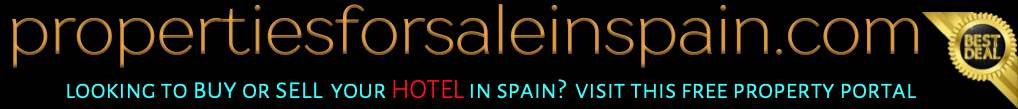 Buying and selling hotels in Spain free advertising website and property portal