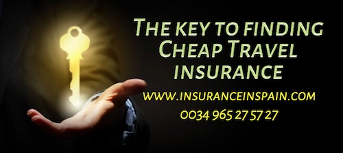 Travel insurance, worldwide, europe, spain, annual, multi trip, expat, holiday, travel