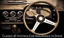 Classic car and motorcycle insurance in Spain