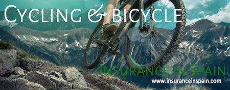 cycling and bicycle insurance in spain for accidents and injuries