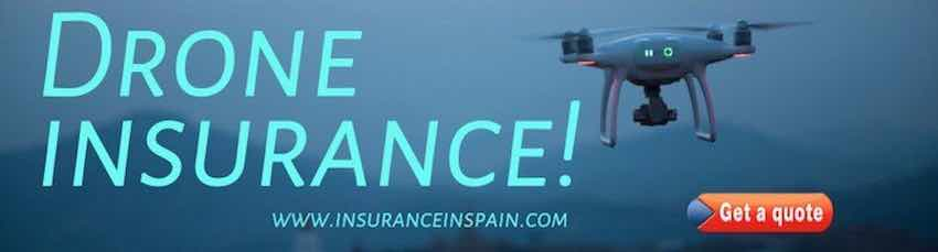 drone and quadcopter insurance in Spain, spanish quadcopter and drone insurance