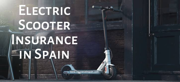 ELECTRIC SCOOTER AND CYCLE INSURANCE IN SPAIN