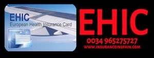 EHIC or European Health Insurance Cards Spain