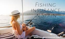 Woman with fishing insurance wearing a white frock, sitting on the back of a boat fishing
