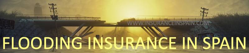 Flood risk insurance in Spain in English