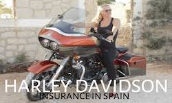 Get a quote for a Harley Davidson Motorcycle in Spain