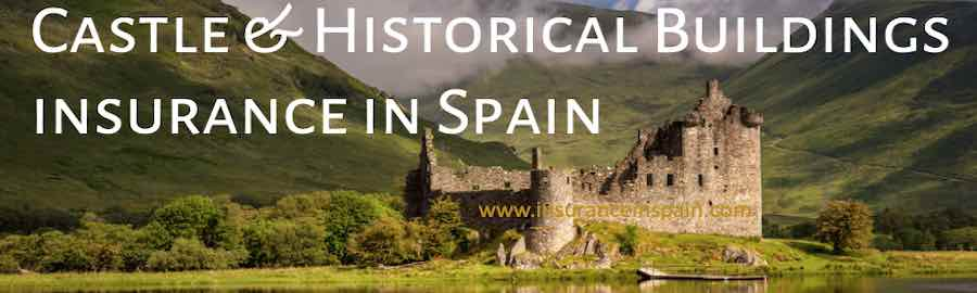 Get an insurance quote for Historical buildings, castles and windmills in Spain