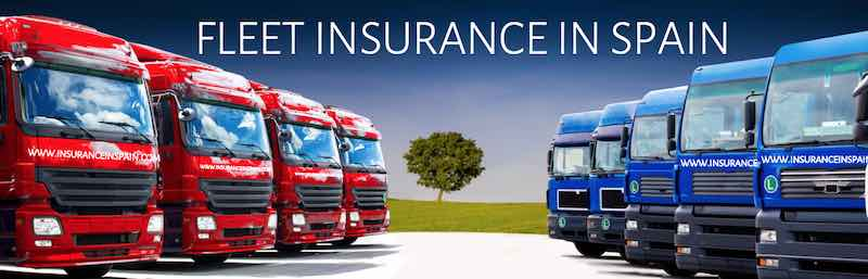 Fleet insurance quotes in Spain in English for private and commercial fleets
