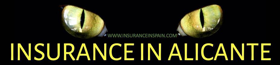 insurance quotes in Alicante, costa Blanca, Spain  in English