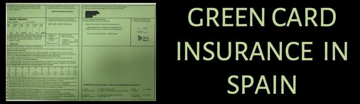Green card insurance in Spain and Europe