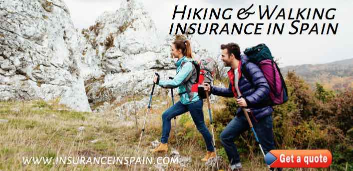 leisure and sports insurance in spain for hikers and mountain climbing
