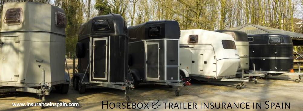 horse box, trailer and towing insurance in spain and europe