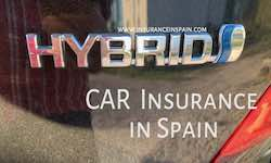 Hybrid and electric car insurance in spain