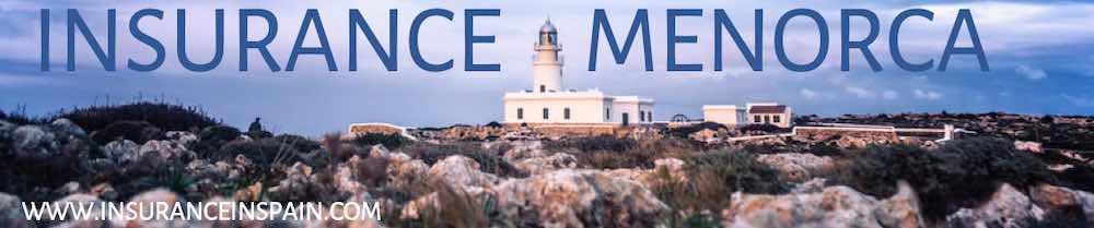 Insurance in English on Menorca Minorca Spain Balearic `islands