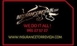 Insurance Torrevieja, La Denia, Costa Blanca, Spain