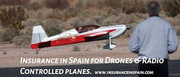 insurance in Spain for drones and radio controlled aircraft